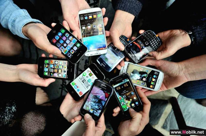 الهواتف المحمولة المتوسطة تشكل 40% من المبيعات