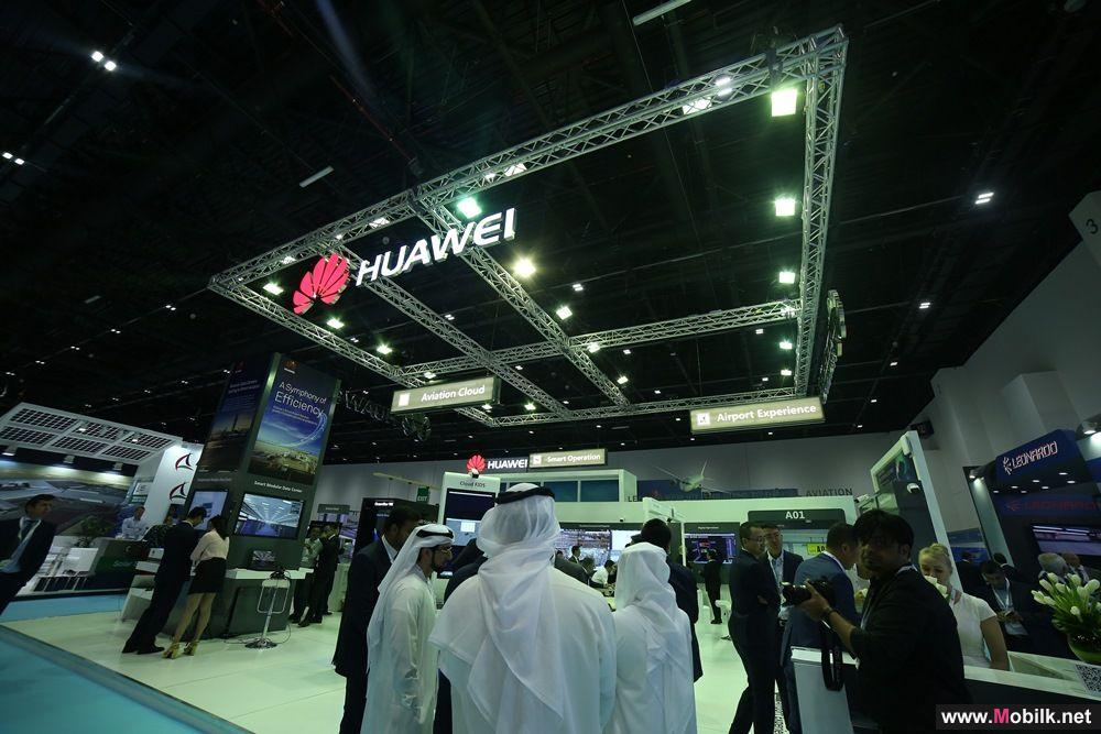 Huawei Showcases Latest ICT Solutions with Partners to Power Digital Aviation at Dubai Airport Show