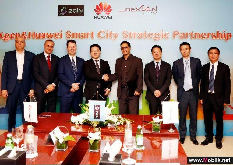 neXgen and Huawei Join Forces to Make Region's Cities Smarter