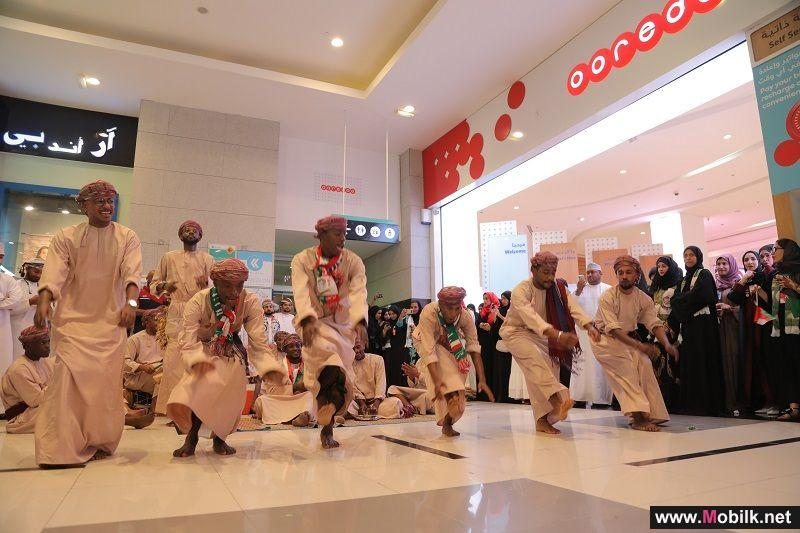 Ooredoo Celebrates 48th National Day with Customers and Employees at Muscat Grand Mall