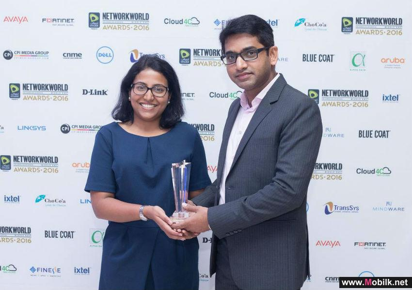 Huawei nabs 'Data Center Networking Vendor of the Year' Award at Network World ME Awards 2016