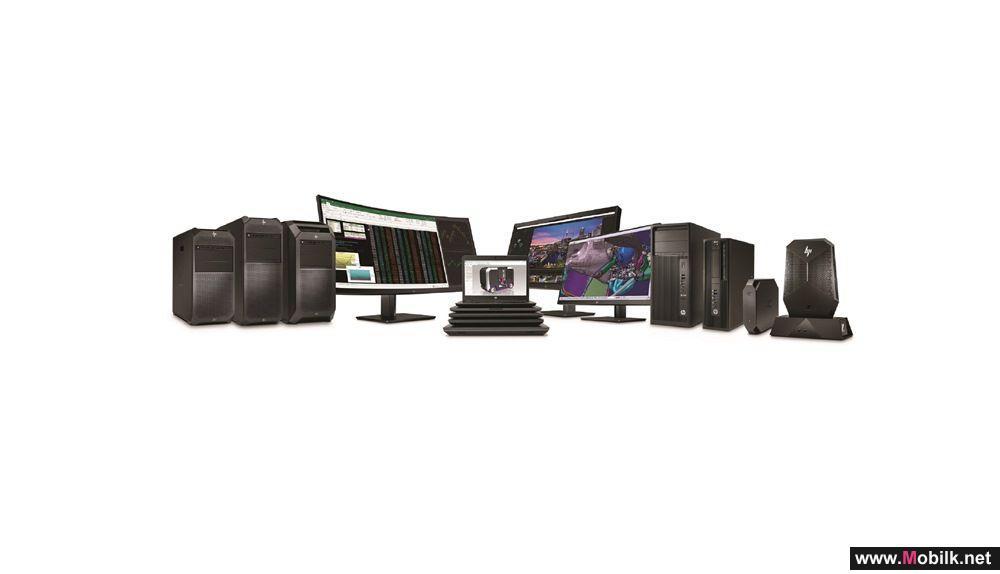 شركة HP تكشف عن محطات العمل طرازZ  خلال