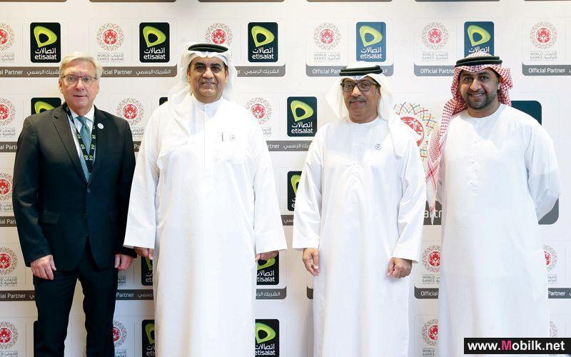اتصالات الامارات شريكاً رسمياً لـ الأولمبياد الخاص