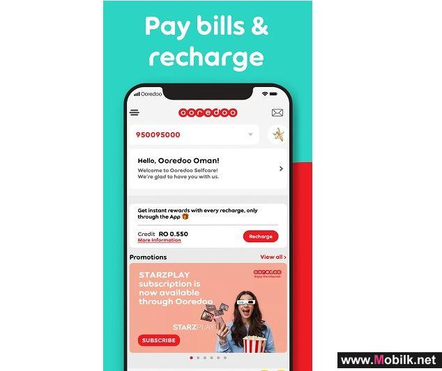 Everything Made Easier with the Ooredoo App