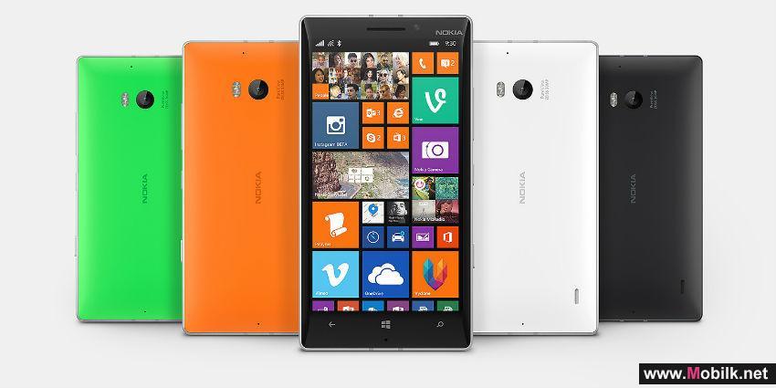 هاتف لوميا 930 الجديد حصرياً من دو في الإمارات العربية المتحدة