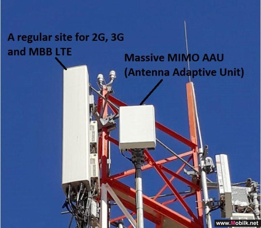 Ooredoo تواصل تحديث شبكتها سوبر نت بتقنية السرعات المتعددة المصادر (Massive MIMO) في مختلف أنحاء السلطنة