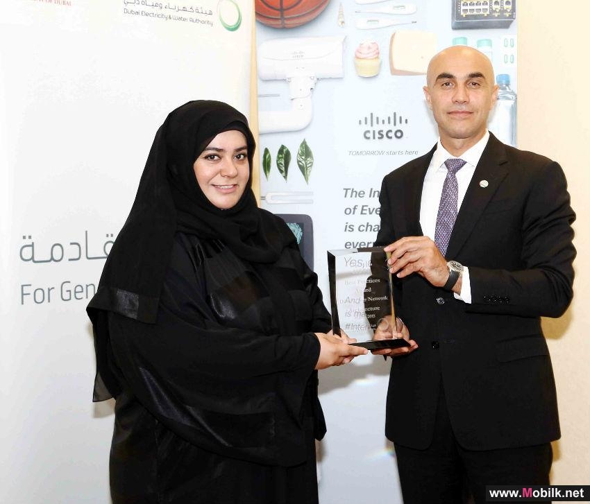 Dubai Electricity and Water Authority (DEWA) Wins Best Practice Award from Cisco