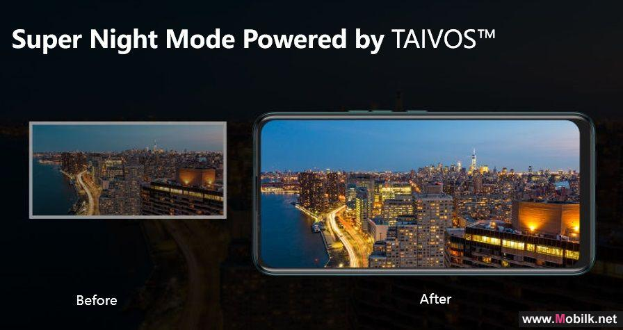 TECNO CAMON 15 مع TAIVOS ™ لديها مؤهلات التصوير الليلي الحقيقية!