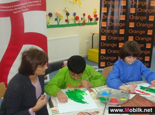 Orange الأردن تقدم الرعاية والدعم لمدرسة المسار لخدمات تطور الطفل