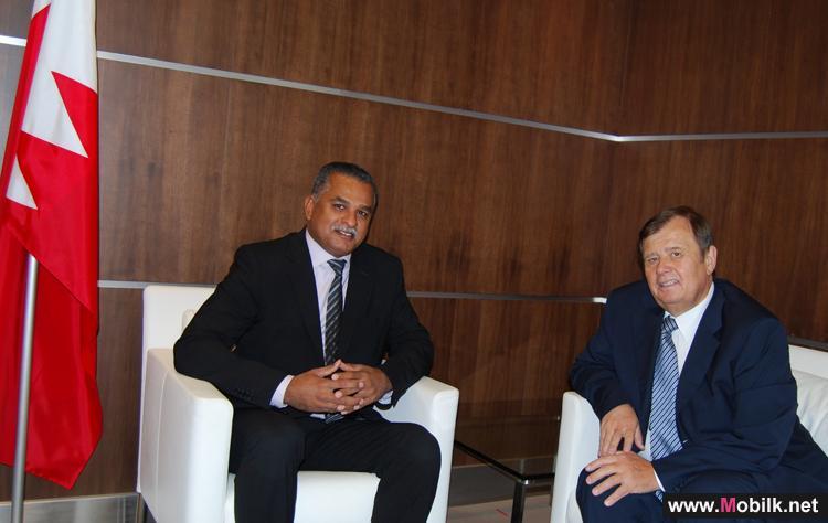 مدير عام هيئة تنظيم الاتصالات البحرينية يستقبل سعادة سفير الاتحاد الروسي