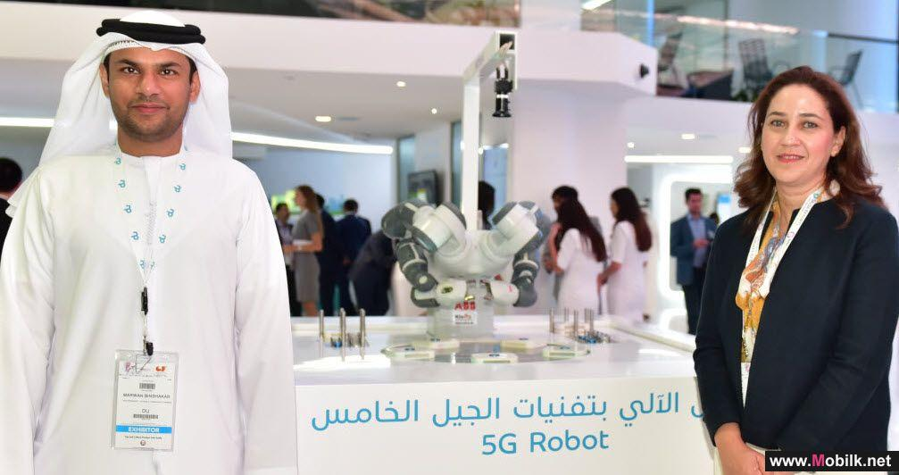 Nokia and du demonstrate the 5G future at GITEX 2017