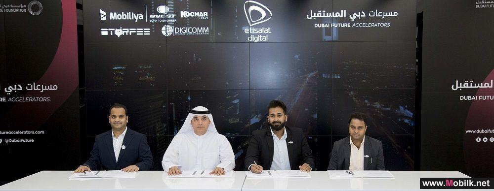 Etisalat Digital partners with four global companies for Dubai Future Accelerators Program
