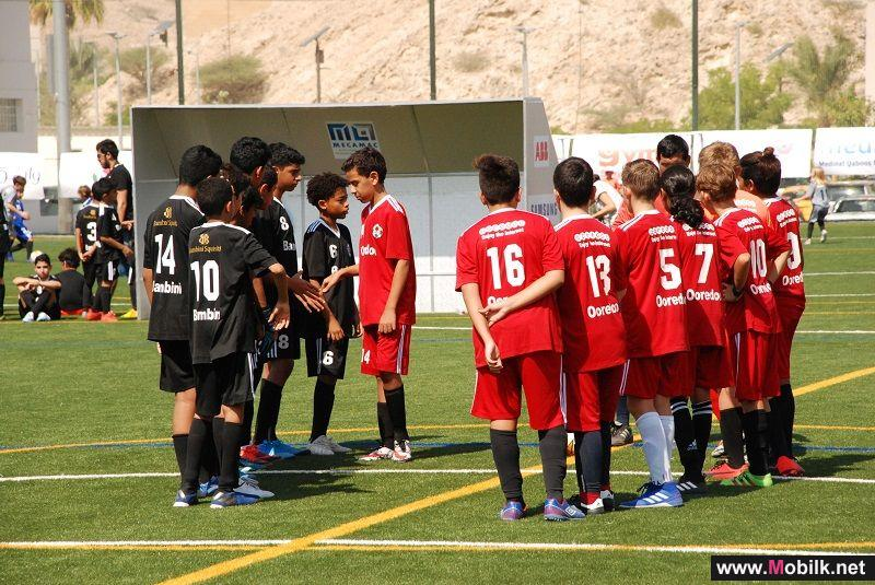 Ooredoo Kicks off Another Year with Muscat Community Football League