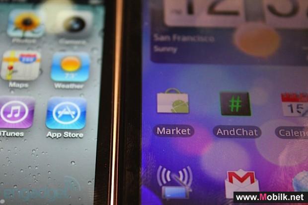 الزجاج المنحني في شاشة  iPhone الجديد