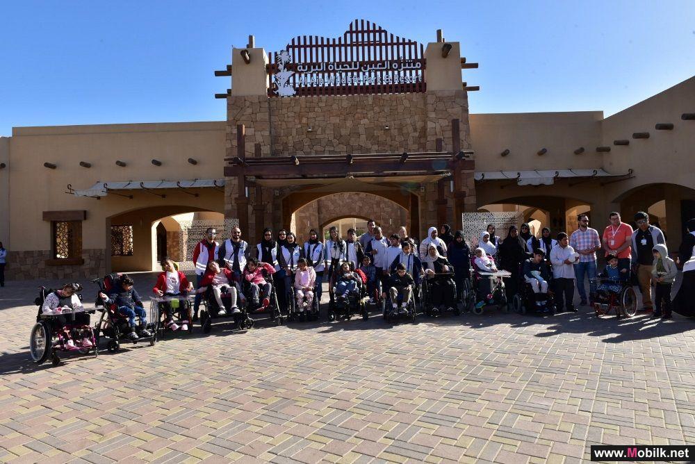 مجلس دو للشباب ينظم يوماً تطوعياً في حديقة الحيوانات بالعين مع الأطفال من أصحاب الهمم