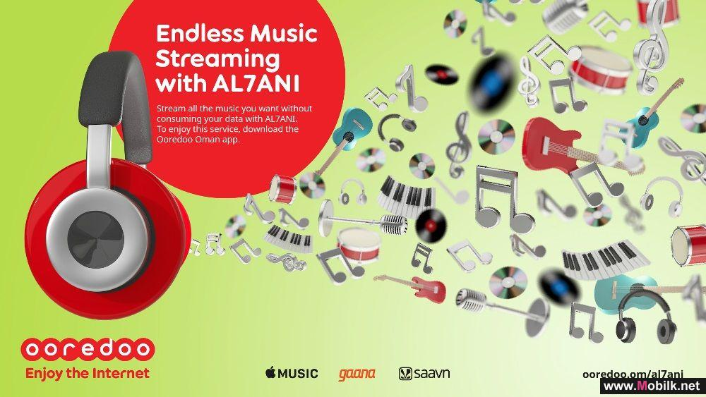Ooredoo's AL7ANI Offers Music Lovers Endless Music Streaming