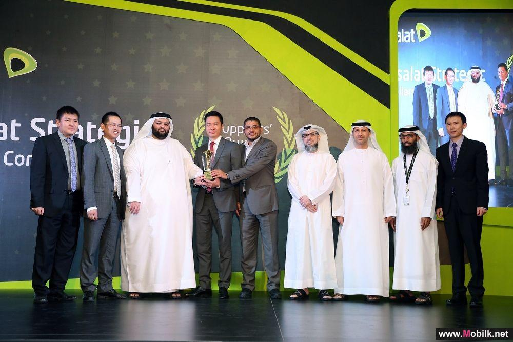 Huawei secures top spot at Etisalat Strategic Suppliers Awards