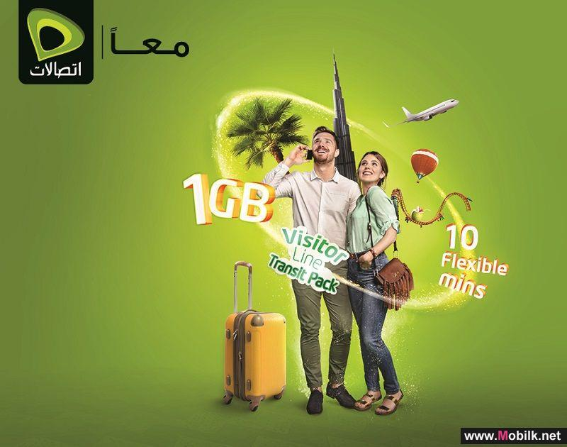 Etisalat launches Transit Pack for UAE visitors