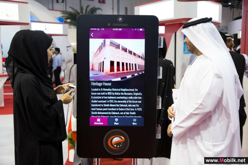 Dubai Culture highlights its smart services at  GITEX Technology Week 2015