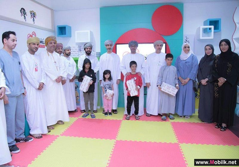 Ooredoo Opens Two Entertainment Rooms for Children at Royal Hospital