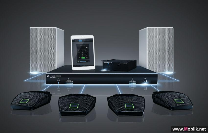 Sennheiser to Conduct First Regional Demonstrations of TeamConnect and ADN-W Audio Conferencing Solutions at InfoComm MEA 2014