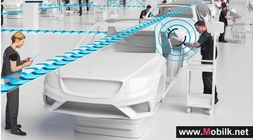 إريكسون وتلفونيكا تتعاونان مع مرسيدس بنز لإنشاء أول منشأة لتصنيع السيارات بتقنية الجيل الخامس