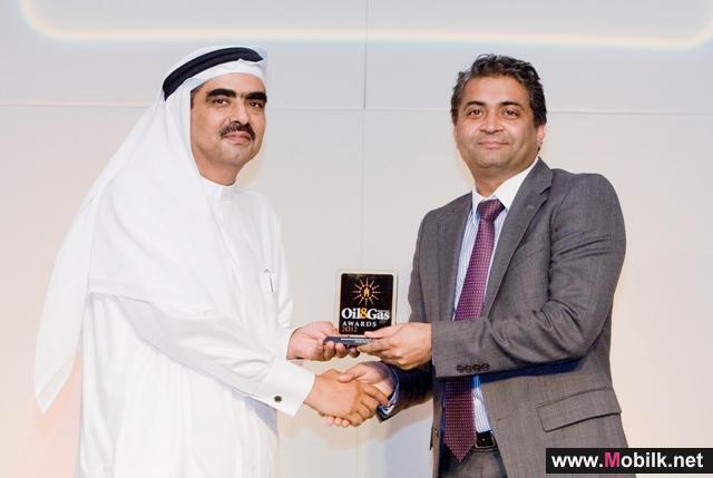 دو تكرّم التميز خلال حفل توزيع جوائز النفط والغاز في الشرق الأوسط 2012