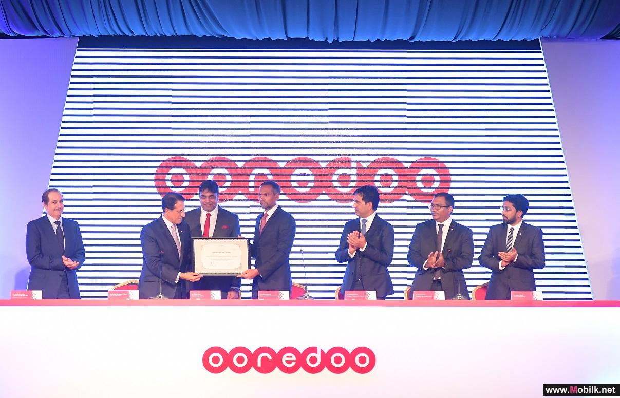 Ooredoo المالديف تستعد لإطلاق طرح عام أولي في سوق الأوراق المالية في المالديف