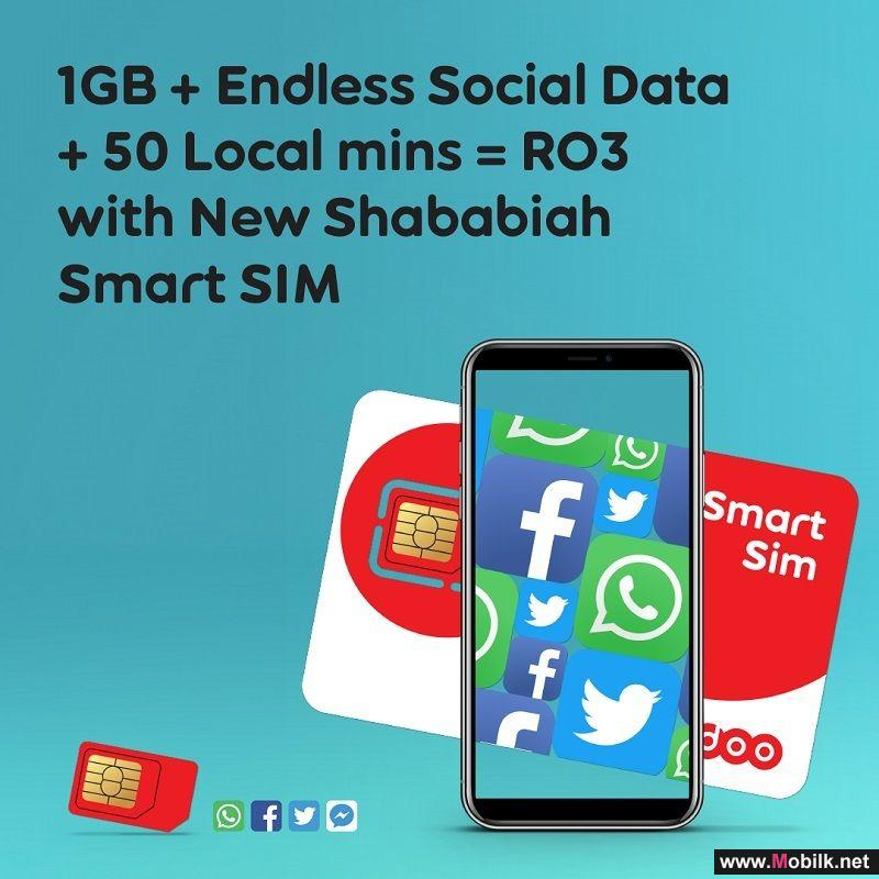 Endless Social Data with Ooredoo's New Shababiah Smart SIM