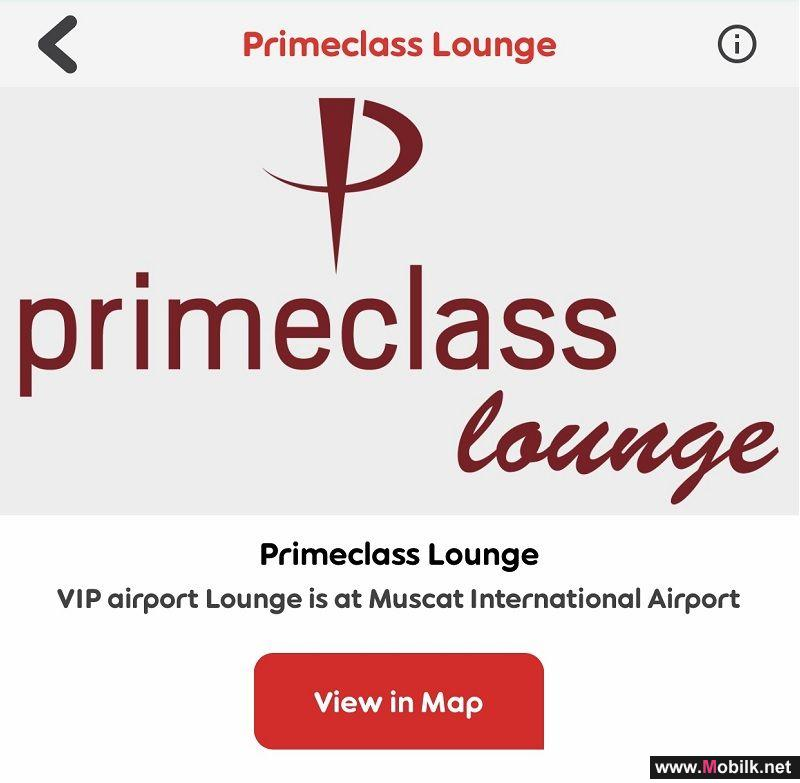 Get Prime Class Treatment Using Nojoom Points at Muscat International Airport