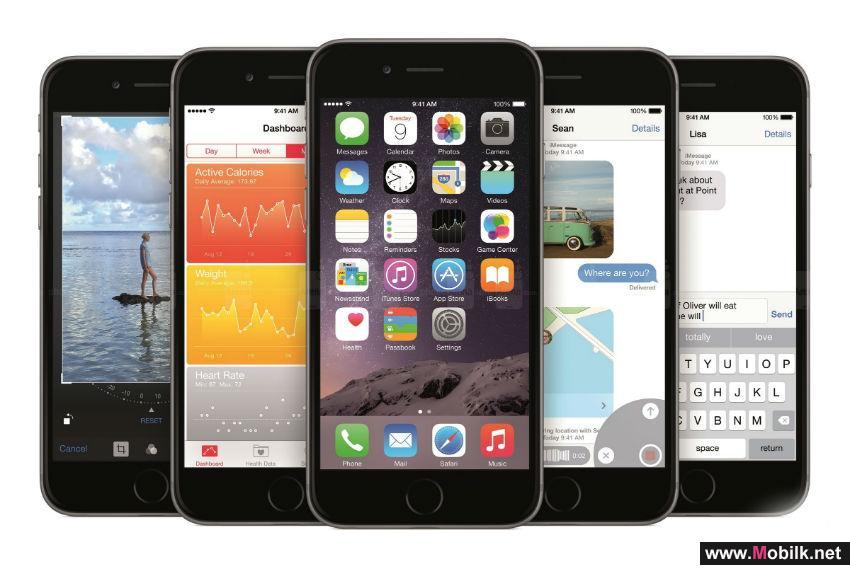 آبل تستحوذ على 15% من سوق الهواتف الذكية بالربع الثاني