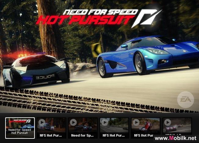 لعبة نيد فور سبيد للايفون Need for Speed Hot Pursuit iPhone
