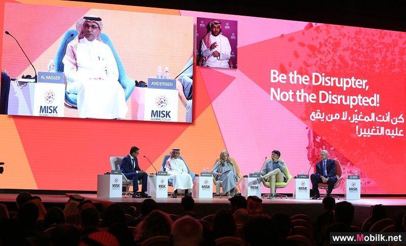 الناصر: التحديات العالمية في سوق الاتصالات مصحوبة بفرص ثمينة للنمو ومتوقع ٥٠ مليار جهاز مرتبط بانترنت الأشياء خلال 2020