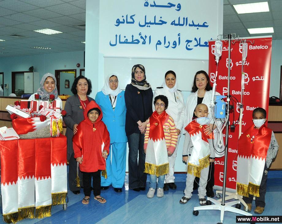 بتلكو تقدم أجهزة iPad لقسم الأطفال المصابين بالسرطان في مستشفى السلمانية