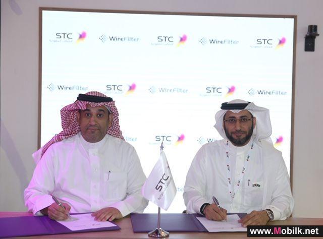 اتفاقية لتوسيع شبكة النطاق العريض بين STC  و WireFilter
