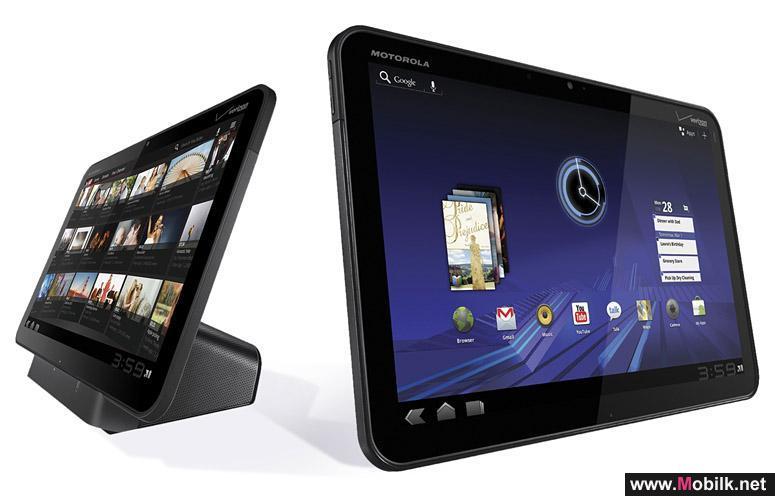 الاتصالات السعودية تقدم حصرياً Motorola XOOM™3G بنظام Android™