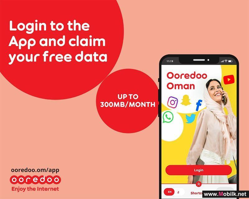 Free Data Every Day with Ooredoo