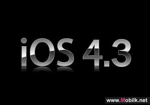 iOS 4.3.2 coming soon