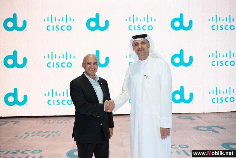 du Collaborates with Cisco to Offer new Software Defined networking solution for business customers