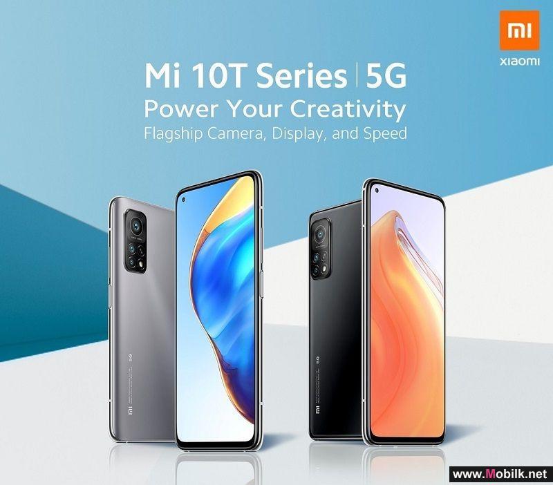 شاومي تطلق سلسلة مي 10 تي، بهاتفين من أفضل الهواتف الذكية عالية الأداء المناسبة للعمل والألعاب والاستخدام اليومي