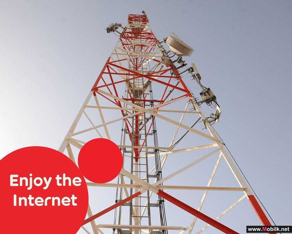 Ooredoo تغطي 92% من الكثافة السكانية في السلطنة بشبكتها للإنترنت فائق السرعة