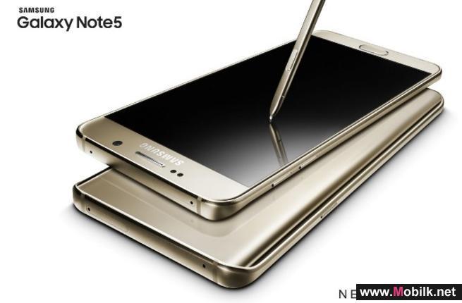 سامسونج تطلق هاتفيها الجديدين جالاكسي نوت 5 و جلاكسي أس 6 إيدج+ في منطقة الخليج