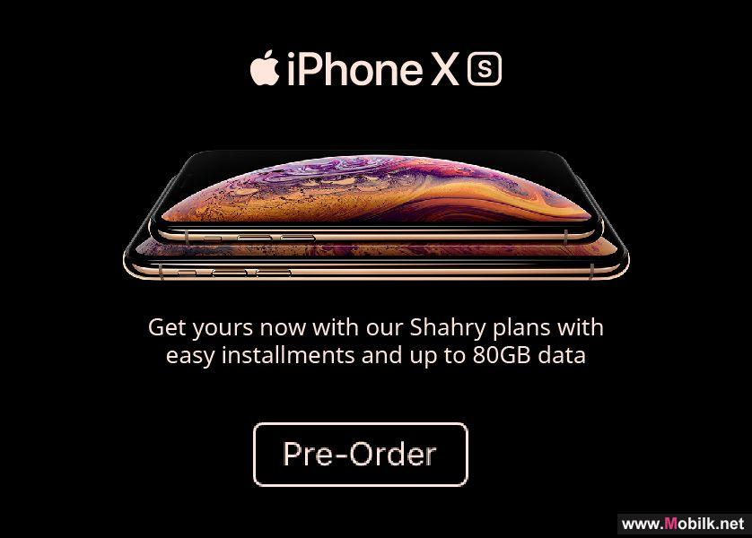 Ooredoo Customers can now Pre-Order the New iPhoneXs & iPhoneXs Max with Easy Instalments and up to 80GB with Shahry