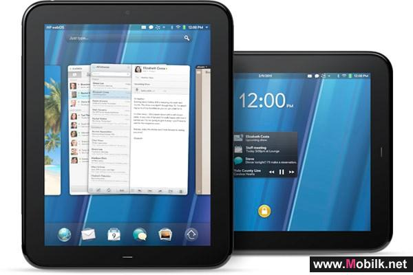 HP thinks the TouchPad will be better than number one, if thats even possible