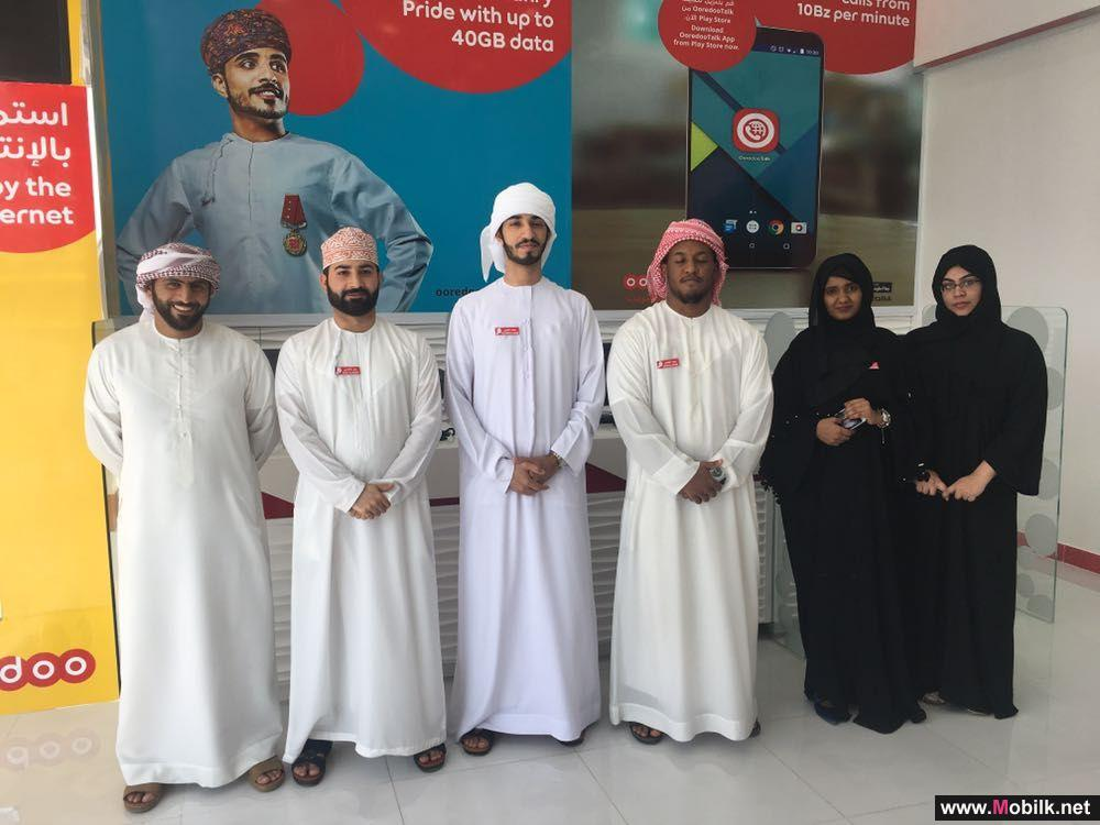 Ooredoo Opens Franchise Store in Al Buraimi