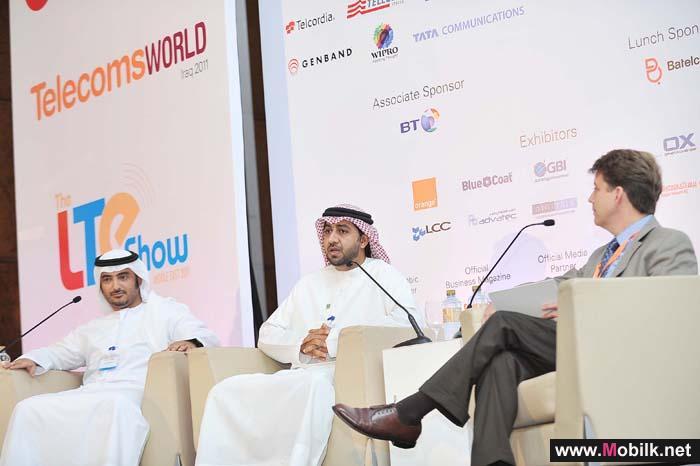 بن علي خلال مخاطبته المؤتمر العالمي للاتصالات منطقة الشرق الأوسط