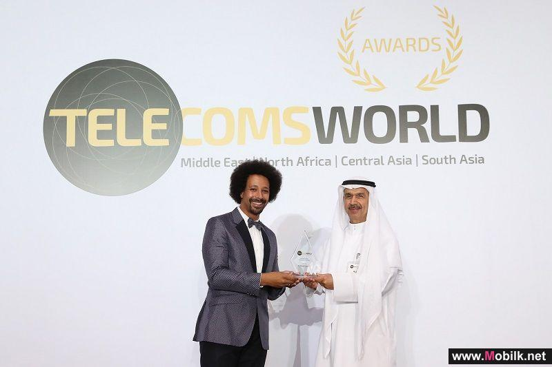 Etisalat named 'Best Regional Wholesale Carrier' at 13th annual Telecoms World ME Awards