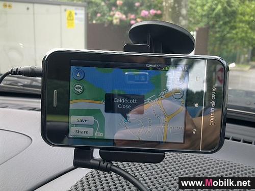 الجهاز الوحيد المدعوم بنظام ملاحي Garmin وبنظام Android من الاتصالات  السعودية