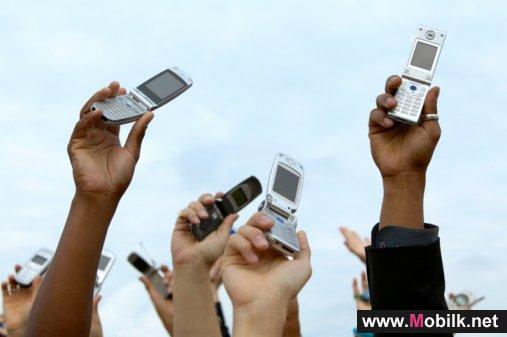 6.6 مليون عدد مشتركي الهاتف الخلوي بالأردن في 2010