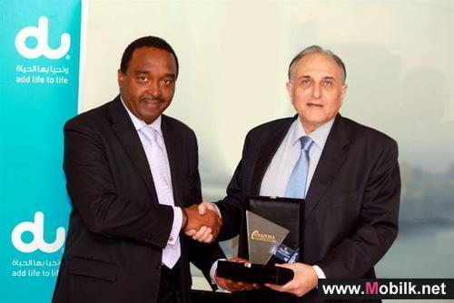 دو تفوز بجائزة أفضل مزود للمحتويات المحلية للعام 2011 من سامينا
